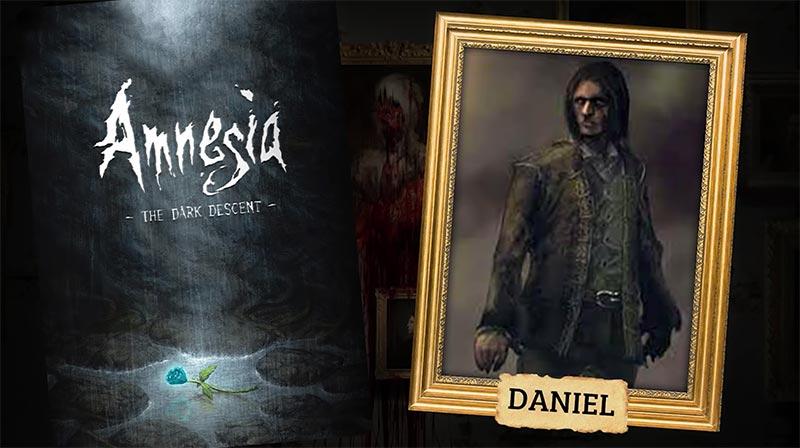 Daniel nhân vật chính trong Amnesia The Dark Descent cốt truyện