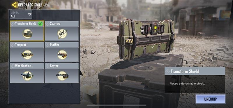Mẹo chơi sử dụng Smoke và Transform Shield