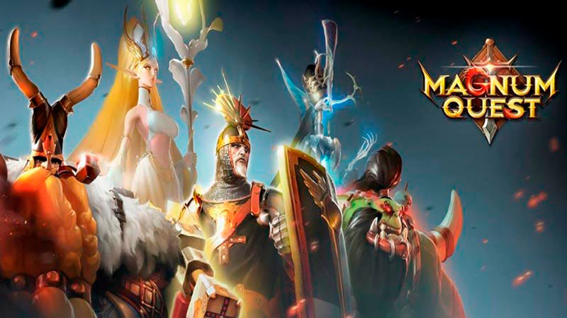 Magnumquest game chiến thuật mobile online thẻ tướng