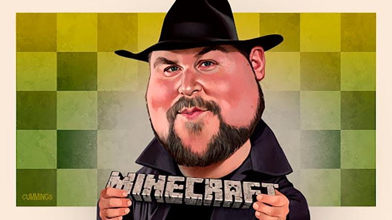 Markus - Cha đẻ của tựa game thế giới mở đầy sáng tạo Minecraft lịch sử