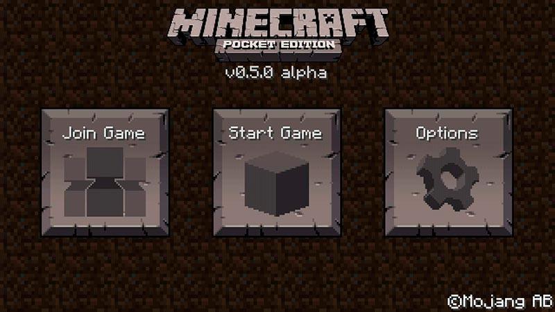 Minecraft Alpha phiên bản sơ khai trong lịch sử