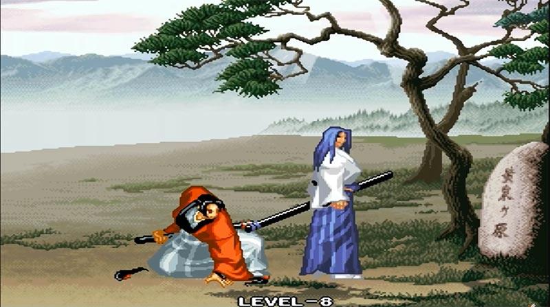 Ukyo Tachibana tìm gặp Yumeji để khuyên cô trở lại quê nhà