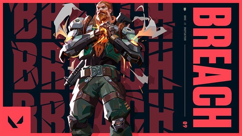 Valorant - Nhân vật Breach đầy cứng cáp, điệp viên thứ 9