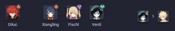 Đội hình Lửa mạnh nhất Genshin Impact