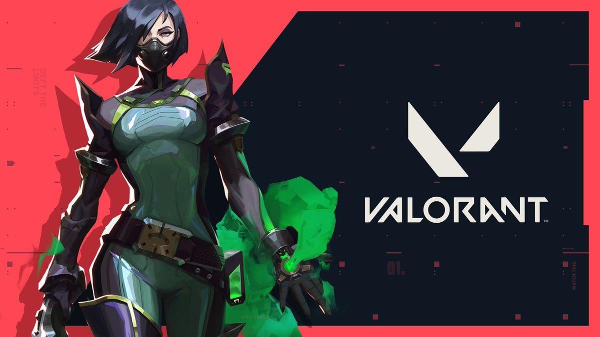 Nhân vật Viper của game bắng súng góc nhìn thứ 1 Valorant chuyên gia khói mù và chất độc