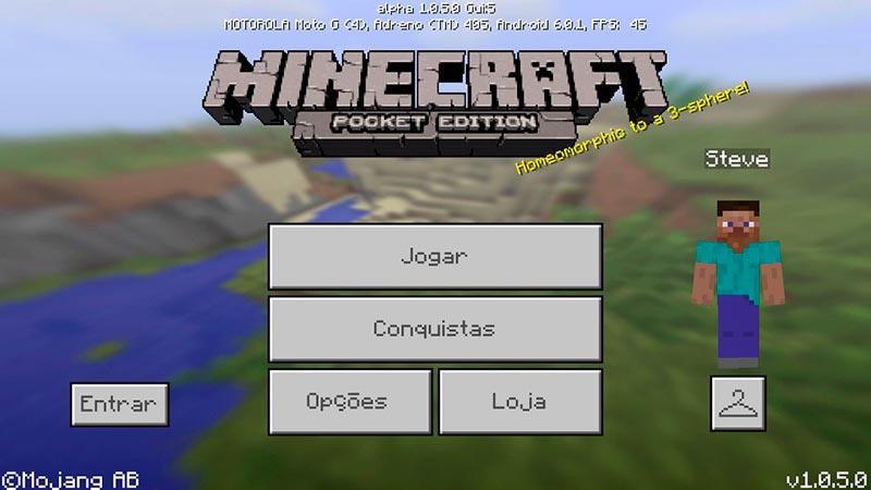 Minecraft 1.0 - Phiên bản nguyên thuỷ nhất