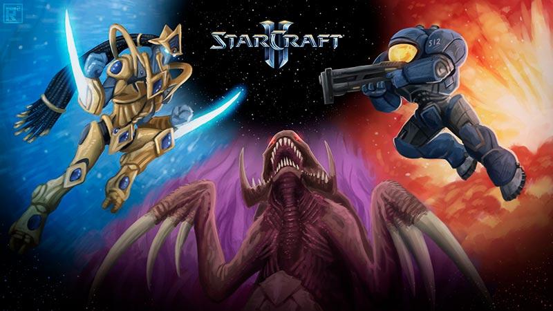 Đại chiến trong vụ trụ Starcraft nguồn gốc các loài: Protoss, Terran, Zerg