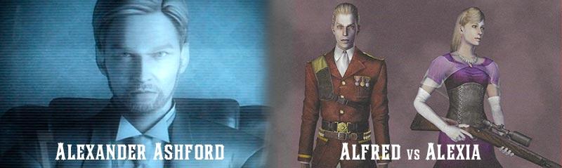 Alexander Ashford tiếp tục công việc của cha mình tạo ra Alfred và Alexia