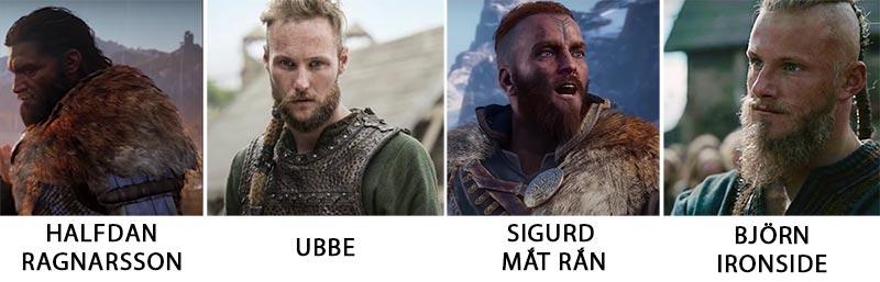 4 người con khác của nhà vua Ragnar Lodbrok