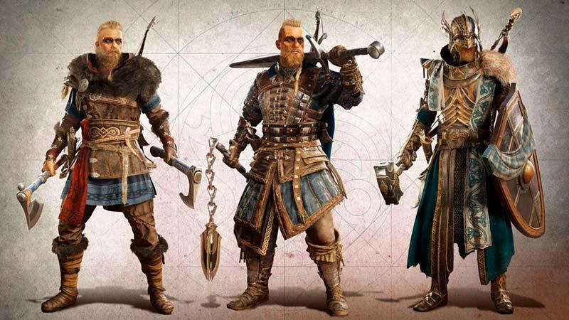 Tạo hình nhân vật của Ivar trong game hành động lén lút Assassin's Creed Valhalla