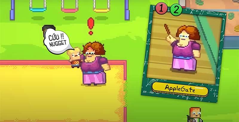 Cô giáo AppleGate - Nhân vật đầu tiên của Kindergarten phân tích nhân vật người lớn
