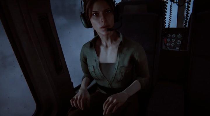 Mở đầu game kịnh dị sinh tồn với hoàn cảnh Lynn và Blake trên trực thăng tới hoang mạc Arizona
