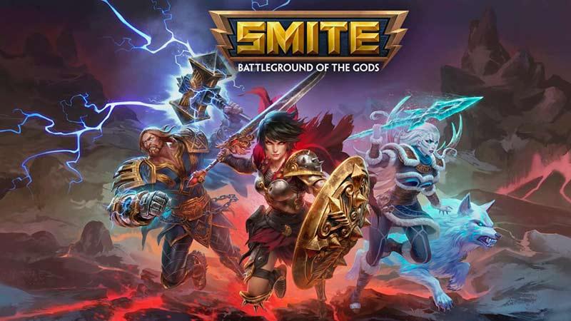 Smite tựa game nhập vai PC cực hot trên Steam 2020