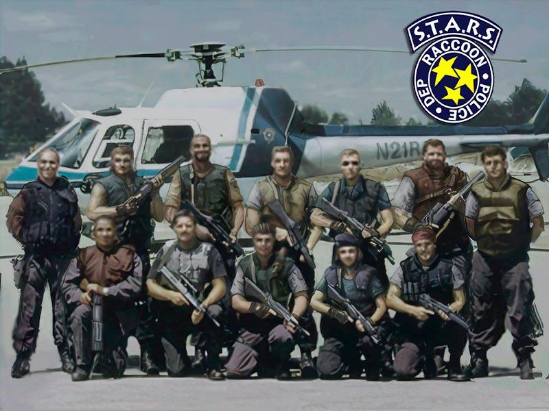 Albert Wesker đã được Umbrella cài vào đội đặc nhiệm S.T.A.R.S