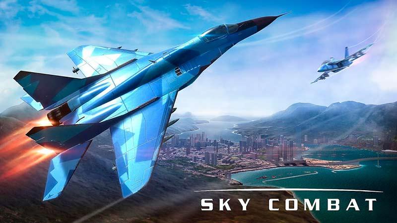 Sky Combat đại chiến trên không tựa game máy bay online cũng góp mặt trong top game mobile multiplayer 2020