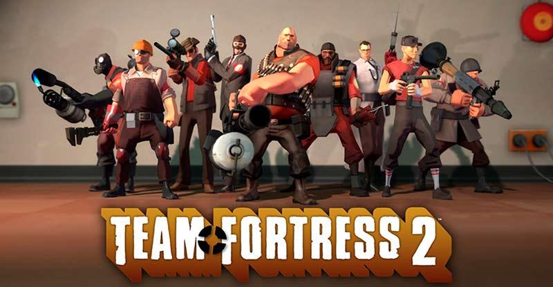 Team Fortress 2 cái tên có mặt trong mọi top game pc miễn phí steam 2020