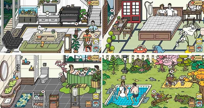 Adorable Home trang trí nhà - Game đồ hoạ dễ thương thu hút được nhiều người chơi