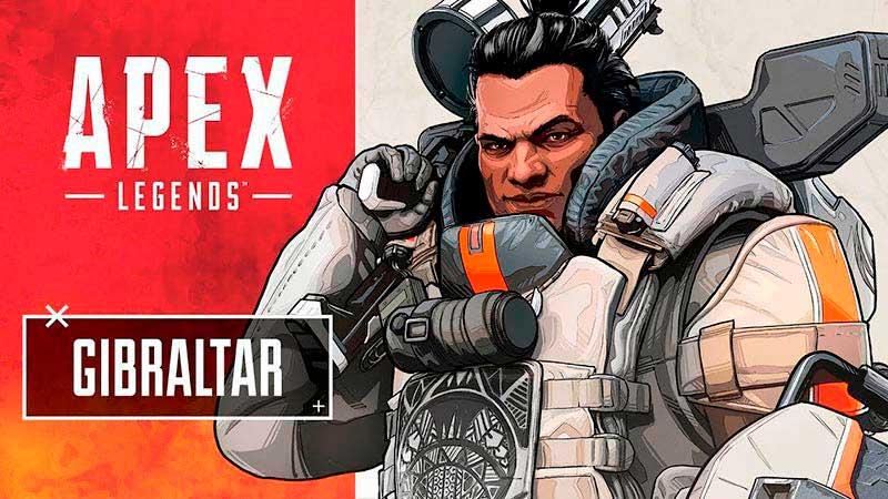 Gibraltar - Chàng trai to con tốt bụng trò chơi game bắn súng Apex Legends