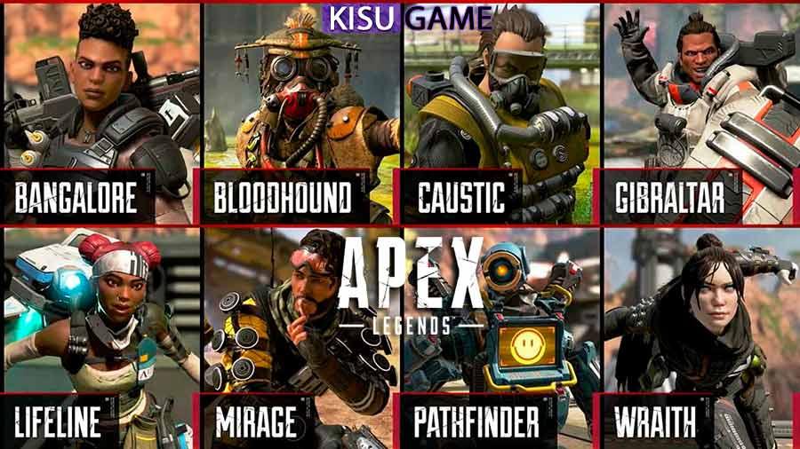 Apex Legends - Một cái tên không thể thiếu top game bắn súng fps pc 2021