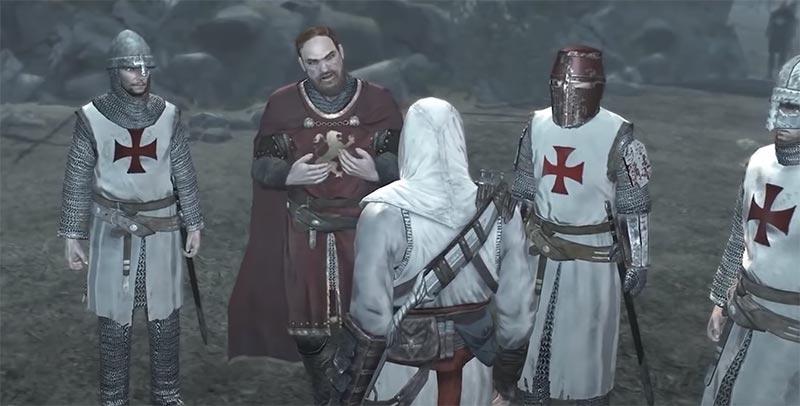 Altaïr tìm gặp vua Richard để nói về những tội ác của Robert - Assassin's Creed 1 cốt truyện trò chơi