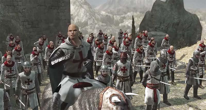 Robert de Sablé dẫn hội Templar đến tấn công pháo thành Masyaf