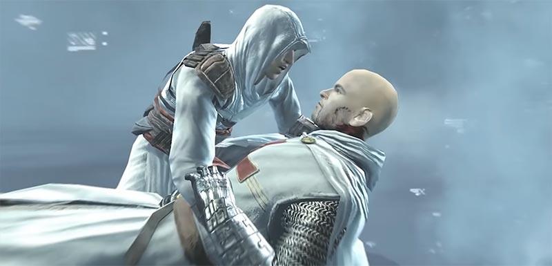 Altaïr đã hạ gục mục tiêu cuối cùng Robert trong tựa game hành động lén lút Assassin's Creed 1