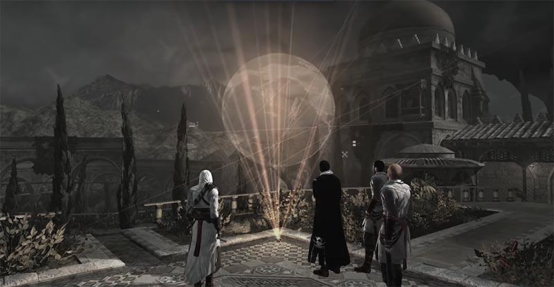 Assassin's Creed 1 - Cốt truyện seri game kết thúc khi bản đồ của Piece of Eden xuất hiện