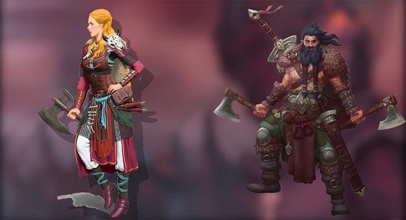 Assassin's Creed Valhalla vai trò của người đàn ông và phụ nữ của người Viking