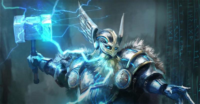 Thor vị thần bảo trợ thắng lợi của đội quân Viking trên Anh Quốc - Assassin's Creed Valhalla