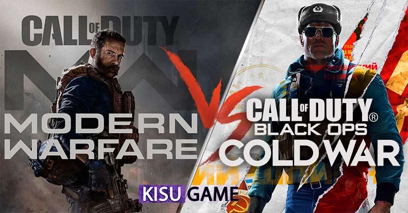 Game bắn súng Call of Duty: Modern Warfare vs Call of Duty: Black Ops Cold War