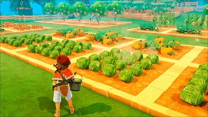 Craftopia gameplay như những game nông trại Stardew Valley