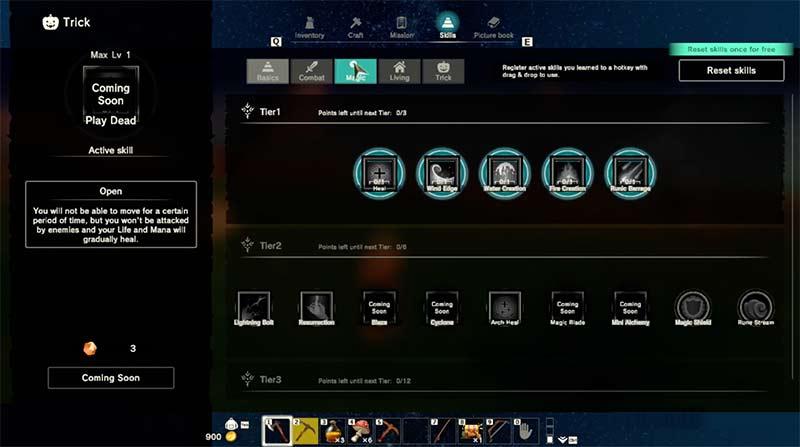 Craftopia gameplay với hệ thống inventory thú vị và đa dạng