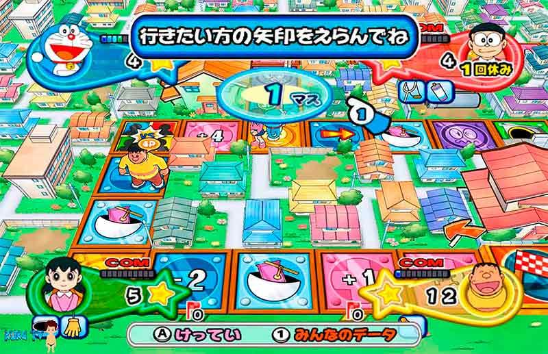 Monopoly game board Doremon trở về với tuổi thơ