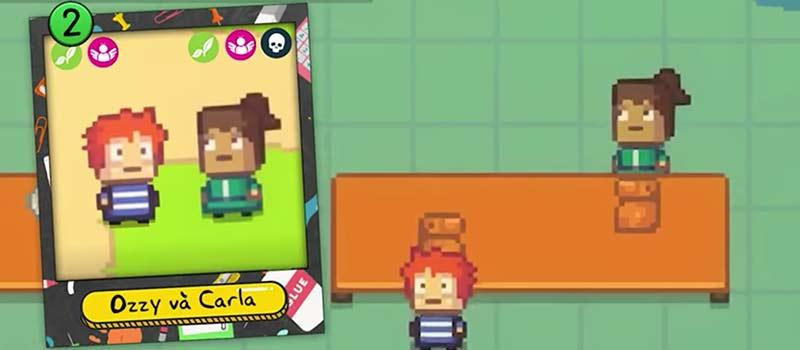 Ozzy và Carla - 2 nhân vật phụ trong game offline pc Kindergarten
