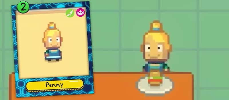 Penny - Con gái của hiệu trưởng xuất hiện trong phần 2 Kingarden phân tích nhân vật trẻ con