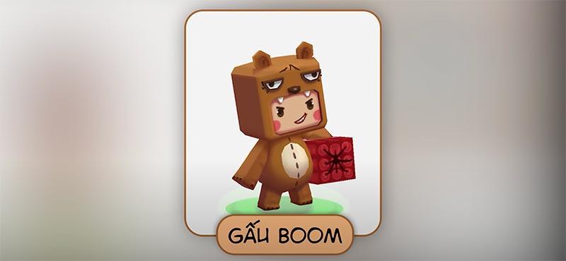 Gấu Boom - Nhân vật chính của Mini World phân tích cốt truyện game