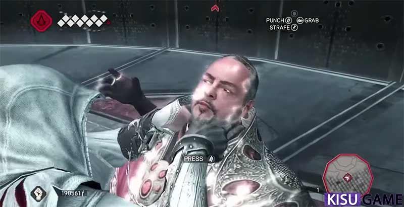 Assassin's Creed 2 hành trình báo thù của Ezio kết thúc khi có cơ hội gặp kẻ cầm đầu kế hoạch