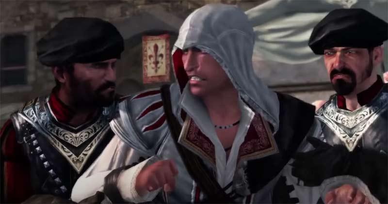Game offline hành động Assassin's Creed 2 cốt truyện trò chơi bi kịch của Gia tộc Auditore bắt đầu (P2)