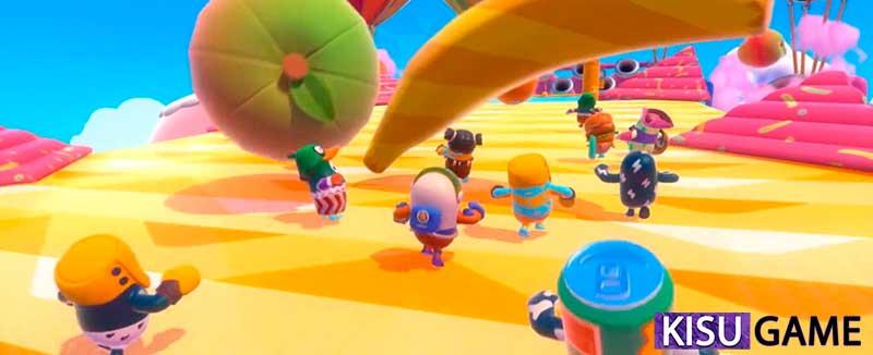 Fruit Chute - Mẹo chơi Fall Guys Steam