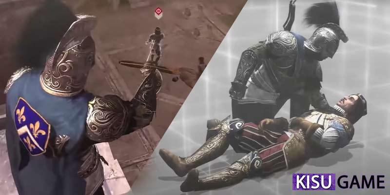 Ezio ám sát thành công Bá tước Valois