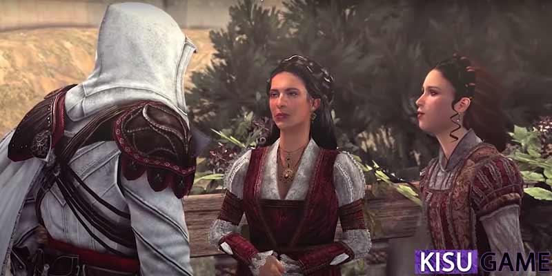 Claudia nghe được tin về nữ bá tước và Ezio đã lên kế hoạch giải cứu Katarina - Assassin's Creed Brotherhood