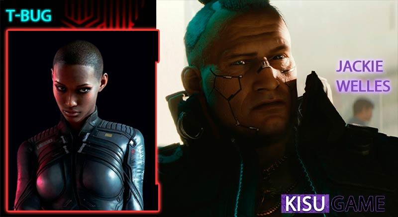 Game offline hành động Cyberpunk 2077 người bạn đồng hành Jackie Welles