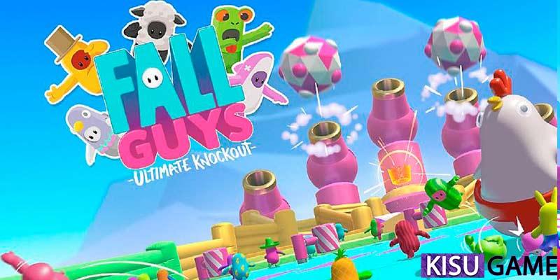 Fall Guys PC trò chơi game online dễ thương và vui nhộn