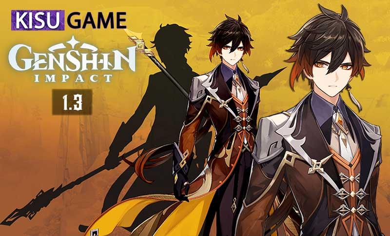 Top 4 nhân vật yêu thích Genshin Impact - Nham thần Zhongli