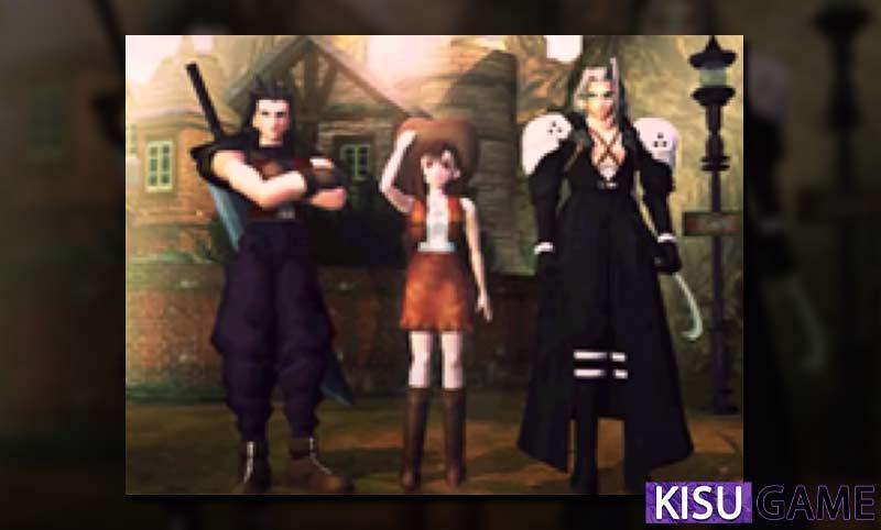 Bức ảnh chụp trước lò phản ứng Mako chỉ xuất hiện Zack, Sephiroth và Tifa