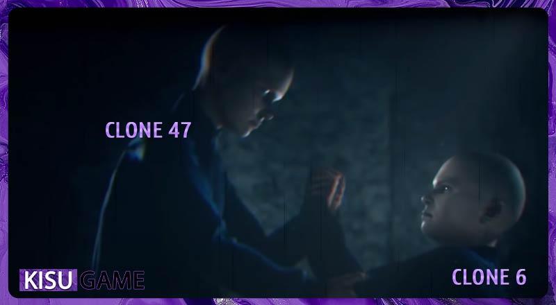 HitMan dòng thời gian game Agent 47 tức Clone 47 và Clone 6 vô cùng thân thiết