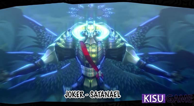Joker đã thức tỉnh Persona tối thượng Satanael trong kết game Persona 5