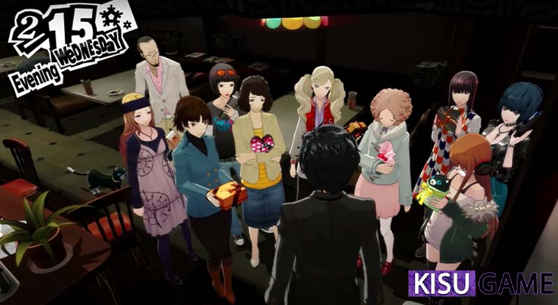 Happy Ending của kết game Persona 5
