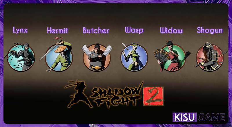 Shadow Fight 2 - 6 boss quái vật bị phong ấn thoát ra khỏi Cánh Cổng Bóng Tối