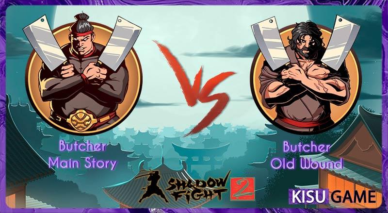 Butcher - Tên boss thứ 3 của cốt truyện game Shadow Fight 2